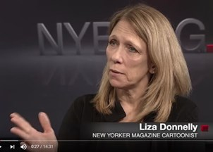 <p>Liza Donnelly in the news</p>