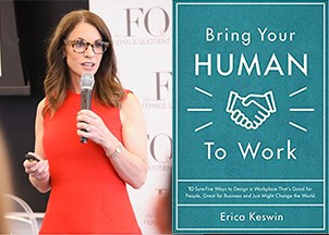 <p>Erica Keswin's new book is a Wall Street Journal and Amazon bestseller</p>
