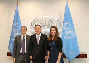 <p>Ban Ki-Moon is a leading voice on the environment </p>