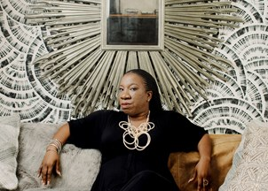 <p>Tarana Burke propels the #MeToo Movement forward </p>