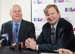 <p>Karl Rove and Jim Messina keep earning rave reviews </p>