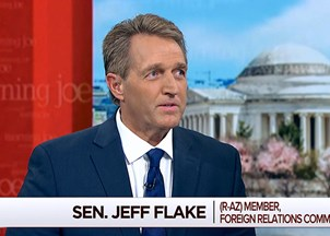 <p>Jeff Flake in the news</p>