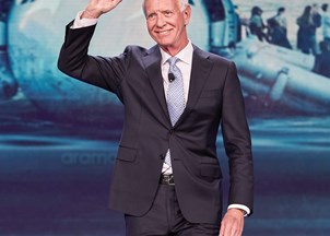 <p>Captain Sullenberger garners tweets of praise at back-to-back events </p>