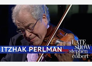 <p>Itzhak Perlman celebrates 60th anniversary of his debut on Ed Sullivan Show </p>