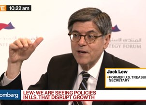 <p>Jack Lew makes headlines at the Arab Strategy Forum </p>