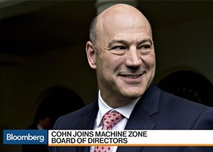 <p>Gary Cohn named to MZ Board of Directors</p>