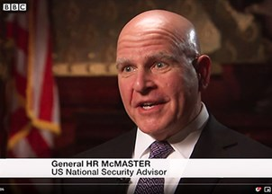 <p>H.R. McMaster in the news</p>