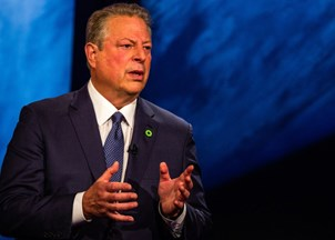 <p>Al Gore shapes the global agenda at Davos 2019</p>