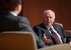 <p>Dick Cheney is a leading voice on foreign affairs </p>