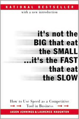 It's Not the Big That Eat the Small... It's the Fast That Eat the Slow: How to Use Speed as a Competitive Tool in Business
